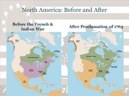 america map before and after and indian war revolutionary war notes ppt