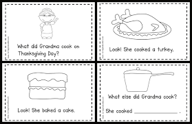 thanksgiving dinner worksheet carrie u0027s speech corner book of the week i know an old lady who