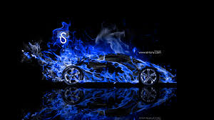 Lamborghini Sesto Elemento Fire Abstract Car 2014 El Tony