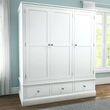 wardrobes white wooden slatted wardrobe doors inside hallway