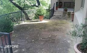 Limestone Patios Limestone Patio Cleaning And Sealing Austin Tx
