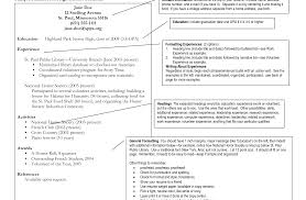 job resume sle for high students resume exles for highschool students pdf sle high