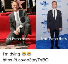 Neil Patrick Harris Meme - wood wwwwai neil patrick harris july 29 bony july 29 so july son