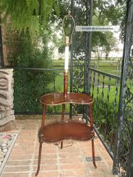 1900 home decor antigue kidney shaped floor lamp tiered table early 1900 u0027 s home