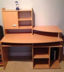 grand bureau en bois grand bureau avec rangement magasin de mobilier de bureau lepolyglotte