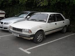 peugeot auto diesel file 1986 peugeot 305 srd diesel saloon 10000101013 jpg