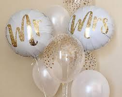 wedding balloons engagement balloons etsy
