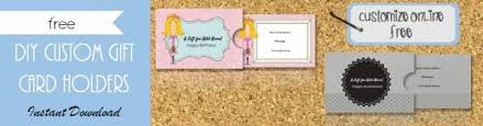 custom gift card holders free gift certificate template 101 designs customize online then