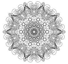 intricate mandala coloring pages fablesfromthefriends