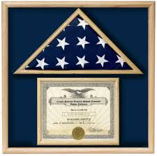 Fold Flag Military Style Certificate Flag Cases Flag Boxes To Hold Medals Certificates