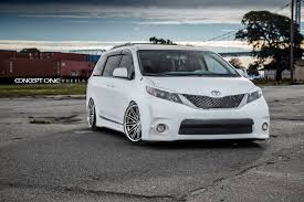 toyota usa toyota sienna cs16 u2013 concept one wheels usa