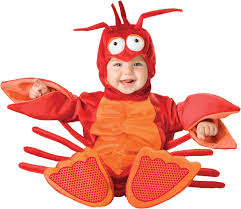 Halloween Costumes Infants 0 3 Months Amazon Incharacter Baby Lil U0027 Lobster Costume Clothing