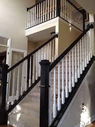 black staircase df938cc48093aaac59b94bc266e8a66e black stair railing painted stair