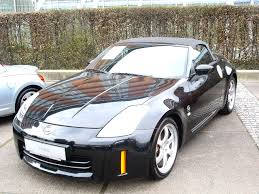 custom black nissan 350z file nissan 350z roadster black jpg wikimedia commons