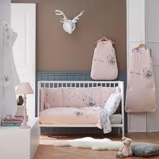 chambre bébé fée clochette parure de lit bébé gazouillis tradilinge bellecouette