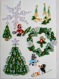 quilling designs at christmas 2 u2013 past times quilling