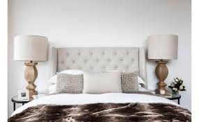 Bed Headboard Lamp by Cool Light Grey Headboard Light Grey Tufted Headboard Bed