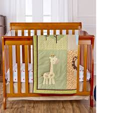 Mini Crib Sets On Me Reversible Portable Crib Set Safari