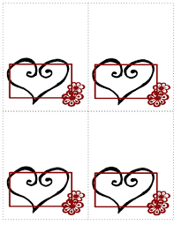 free templates for wedding seating place cards in many styles