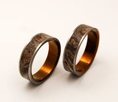 wooden wedding bands khrysos wooden wedding rings by minterandrichterdes on etsy via