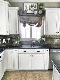 Kitchen Cabinet Valance Countertops Black Granite Countertop Black Bronze Pullouts