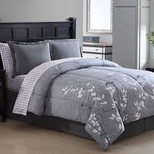 Purple Floral Comforter Set Bainbridge Floral Bed In A Bag Comforter Set Free Shipping Today