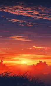sunset alone wallpapers anime hd widescreen wallpapers anime alone at sunset