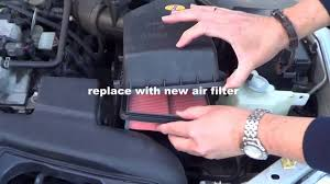 air filter replacement diy car maintenance mazda familia youtube