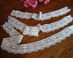 wide crochet trim etsy