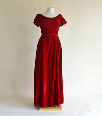 christmas cocktails vintage vintage 1960s evening gown darling christmas red velvet evening