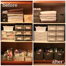 Linen Closet Bathroom Fabulous Linen Closet Organization For Space Saving