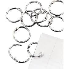 black binder rings images Staples loose leaf rings 1 quot size silver staples
