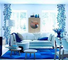 great blue living room decorating ideas and living room cool blue