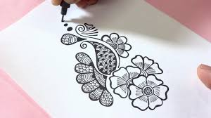 Home Design Doodle Book by Easy Henna Mehndi Design Doodle Youtube