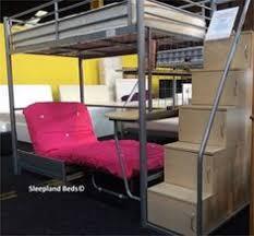 High Sleeper With Futon Merlin High Sleeper With Navy Star Sofa Bed William U0027s Room