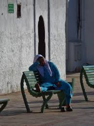 blue city morocco chair casablanca morocco not the movie the hermes journey