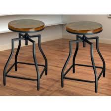 Adjustable Height Chairs Farmhouse Bar Stools Birch