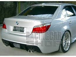 m5 type rear spoiler pu fit for bmw e60 5 series 5 series e39