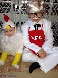 Halloween Chicken Costume Kfc Colonel Sanders Chicken Costumes Colonel Sanders