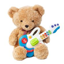 teddy bear with a guitar free stock photo public domain pictures