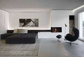 32 black and white living room decor modern sofa furniture and rug