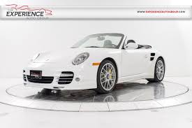 used porsche 911 turbo s for sale used 2011 porsche 911 turbo s cabriolet for sale plainview near