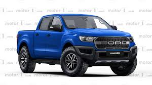 truck ford ranger ford ranger raptor rendered ready to rival colorado zr2