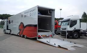 camion porta auto semirimorchio racing tercam allestimento veicoli industriali