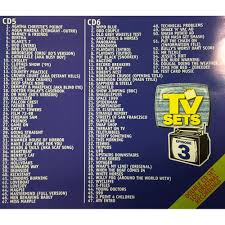 classic cuts presents tv sets 2 x cds themes from 70s 80s 90s