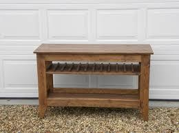 wine rack console table wine rack console table palquest