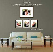 11x14 u0027s and a framed 16x20 over couch sofa wall displays for