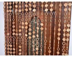 Bead Curtains For Doors Beaded Door Curtain Etsy