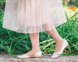 wedding shoes for grass flat wedding shoes etsy