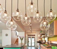 Kitchen Pendent Lighting by Staggered Glass Chandelier 8 Light Glass Chandelier